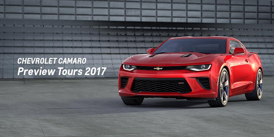 Chevrolet Camaro Preview Tours 2017_期間:2017.7.29[土]-2017.7.30[日]