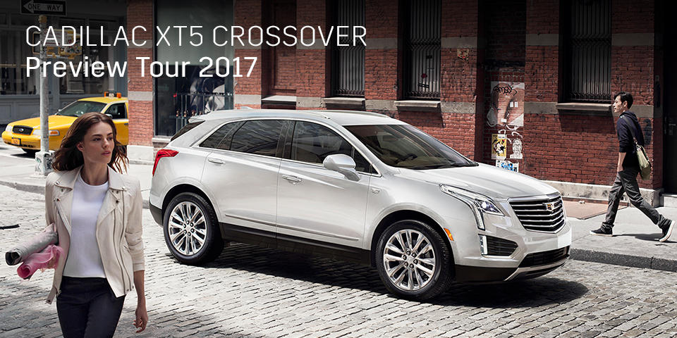 CADILLAC XT5 CROSSOVER PREVIEW TOUR 2017 開催_期間:2017.9.16[土]-2017.9.17[日]